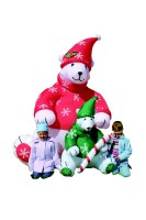 8FT Inflatable Polar Bears